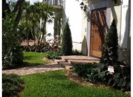 professional front yard landscaping Miami